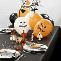 Decorar una mesa de Halloween