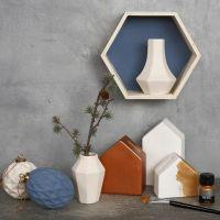 Decorar con elementos de escayola y madera con la pintura Chalky Vintage Look Paint y ART metal Paint