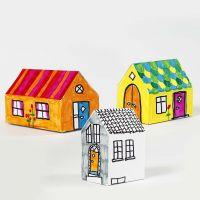 Casa de cartulina
