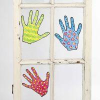 Diseños pintados extraíbles para ventanas