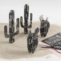 Cactus con papel diseño Vivi Gade