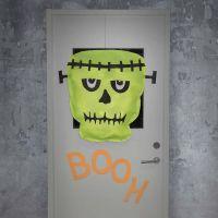 Frankenstein hecho de tela de imitación