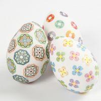 Huevos decorados con Washi Tape