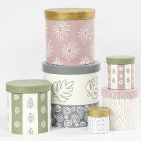 Cajas decoradas con pintura Plus Color