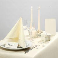 Inspiración de fiesta con decoraciones de mesa blancas, etc.