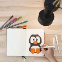 Pixel Art en un Bullet Journal