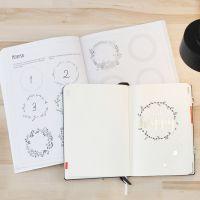 Un Bullet Journal con la ayuda de un libro de ejercicios