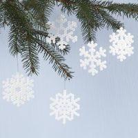 Copos de nieve con cuentas Nabbi fuse