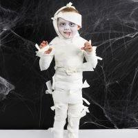 Un disfraz de Halloween de Momia
