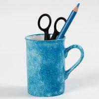 Técnica de los toques sobre porcelana