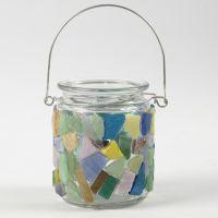 Mosaicos sobre vidrio