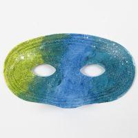 Pintura sobre máscaras plástico