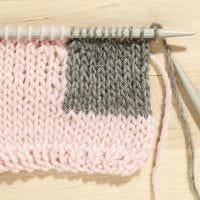 Cómo tejer la técnica Intarsia