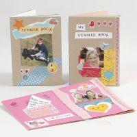 Crea tu propio libro con cartón y papel
