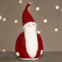Una aguja de Papá Noel fieltro en poliestireno