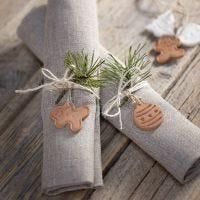 Formas de Navidad de arcilla auto-endurecida para decoración o para colgar