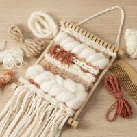 Weaving for beginners: Learn how to weave on a loom