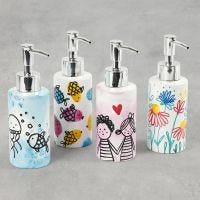 Bonitos dispensadores de jabón con diseños y estampados