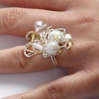 Twisted Sterling Silver Finger Ring