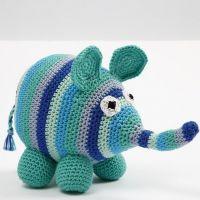 Un elefante de crochet